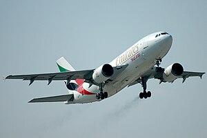 Deutsch: Emirates Sky Cargo Airbus A310