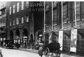 Grand Theatre (Copenhagen) - The Empire Theater shortly after its opening in 1913