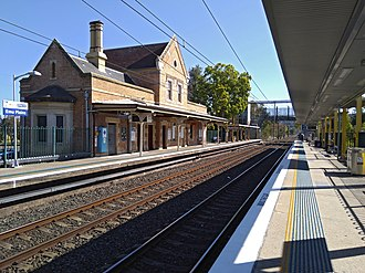 Emu Plains railway station - Image: Emu Plains railway station 20170917 04
