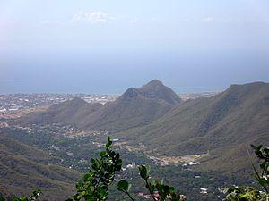 Cerro El Copey National Park - Image: En lo alto del Copey