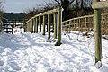 End of the footpath-bridleway - geograph.org.uk - 1154242.jpg