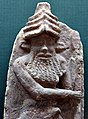 Enkidu, Gilgamesh's friend. From Ur, Iraq, 2027-1763 BCE. Iraq Museum.jpg