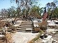 Entrada a vivienda - Biloxi MS despues del huracán Katrina.jpg