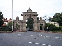 Entrance gates to Queen's Park, Brighton - geograph.org.uk - 52090.jpg