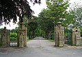 Entrance to Scholemoor Cemetery and Crematorium - geograph.org.uk - 456642.jpg