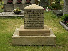 Grab von Veit Engelhardt auf dem Neustädter Friedhof in Erlangen (Quelle: Wikimedia)