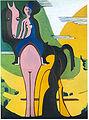 Ernst Ludwig Kirchner - Reiterin - 1931-32.jpg