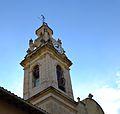 Església de sant Joan Baptista de Beniarbeig, campanar.JPG