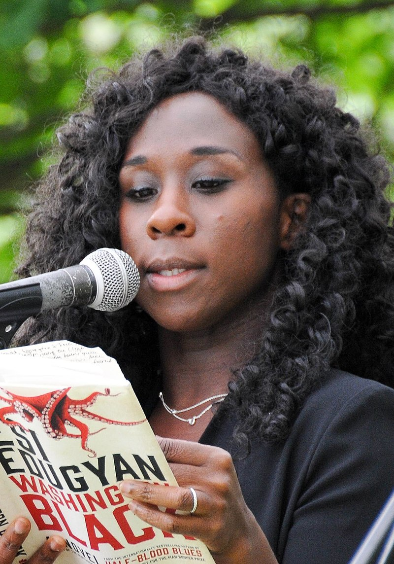 Esi Edugyan at the Eden Mills Writers' Festival in 2018