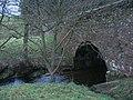 Estate boundary wall bridges stream - geograph.org.uk - 1092013.jpg