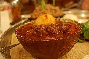 Wat (food) - Image: Ethiopian wat