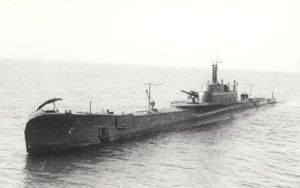 Submarine aircraft carrier - Italian submarine Ettore Fieramosca