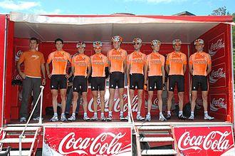 Euskaltel–Euskadi - Euskaltel-Euskadi team in 2008