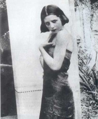 Эва Дуарте в возрасте 15 лет. Фотография 1935 года