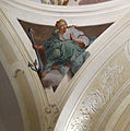 Ex-monastero della crocetta, cappella (oggi biblioteca), affreschi di vincenzo meucci 07 speranza.JPG