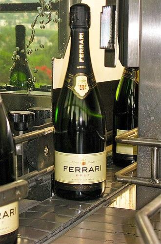 Trento DOC - Example of a Trento DOC Label