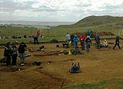 Excavations at Burrough Hill, 2011
