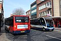 Exeter Fore Street - Stagecoach 48016 (YJ15ACU) and 48015 (YJ15ACO).JPG