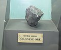 Exhibit of Magnese Ore at Regional Museum of Natural History,Bhopal,India.jpg