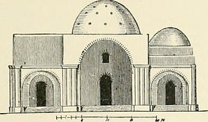 Palace of Ardashir - Exterior elevation, Palace of Ardashir, 1905
