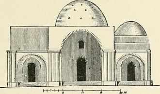 Palace of Ardashir - Exterior elevation, Palace of Ardashir, 1905