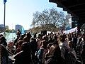 Extinction Rebellion demonstration at Jannowitzbrücke 02.jpg