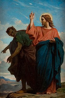 Image result for satan tempting jesus on mountain top