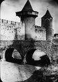 Förvarstorn och bro vid Cité de Carcassonne - TEK - TEKA0118392.tif