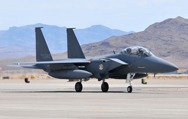 File:F-15K arrives at Nellis AFB.jpg
