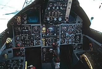 McDonnell Douglas F-15 Eagle - F-15A cockpit