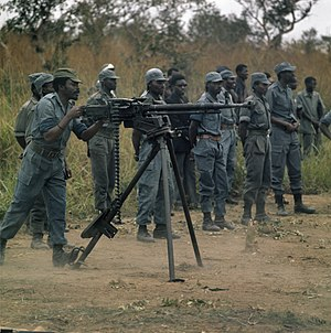 Angola - FNLA insurgents being trained in Zaire in 1973