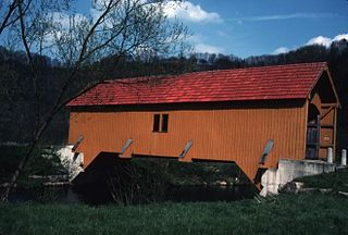 FACH-OBERGRONIGEN COVERED BRIDGE; BADEN-WURTTEMBERG STATE, GERMANY.jpg