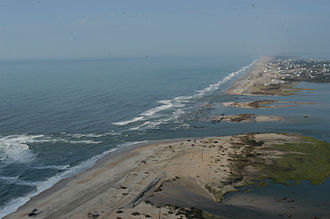 Effects of tropical cyclones - Hurricane Isabel (2003)'s effect on the North Carolina Outer Banks