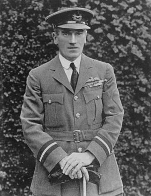 Uniforms of the Royal Air Force - Air Commodore Scarlett wearing 1920s service dress