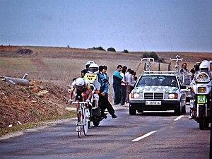 Fabio Parra - Parra during the 1989 Vuelta a España