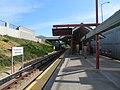 Facing south at North Concord Martinez station, May 2018.JPG