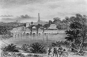 Fairmount Water Works 1874