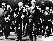 Faisal I of Iraq and Mustafa Kemal Ankara Depot on 1931