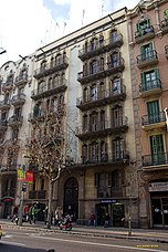 Casa Eleuteri Chico, Barcelona, (1912- 1913)