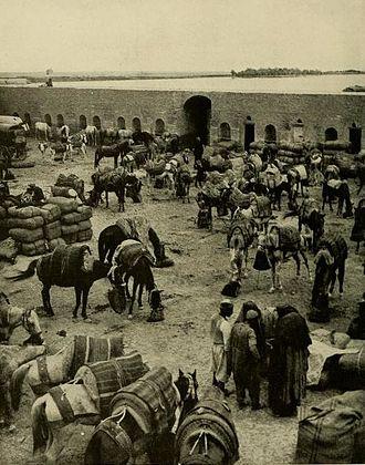 Fallujah - Fallujah's Caravanserai, ca. 1914