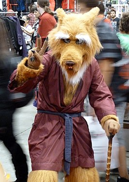 Cosplayer - Meester Splinter tijdens Fan Expo 2012.