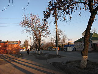 Fatezh Town in Kursk Oblast, Russia