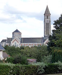 The church in Fauville-en-Caux