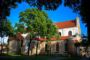 Roman Catholic Archdiocese of Vilnius - Franciscan Church, one of the oldest in Vilnius