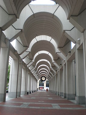 Fed Reserve Bank of SF, 101 Market St. arcade 1.JPG