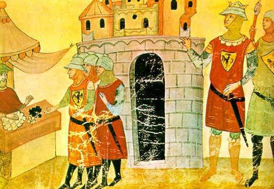 Federico II platba