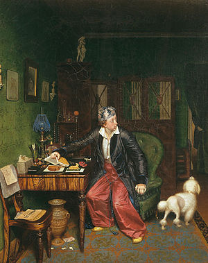 Pavel Fedotov - Breakfast of an Aristocrat
