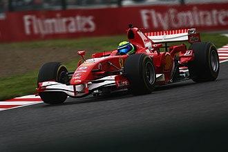 Ferrari 248 F1 - Image: Felipe Massa Ferrari 248 F1 2018 Japanese Grand Prix (43814922320)