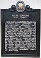 Felipe Sonsong historical marker (cropped).jpg