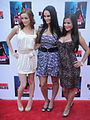 Femme Fatales Red Carpet - Sierra Love, Kristen DeLuca, Crystle Lightning (7374131112).jpg